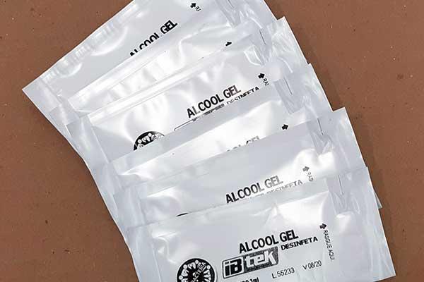Fábrica de embalagens para amostras